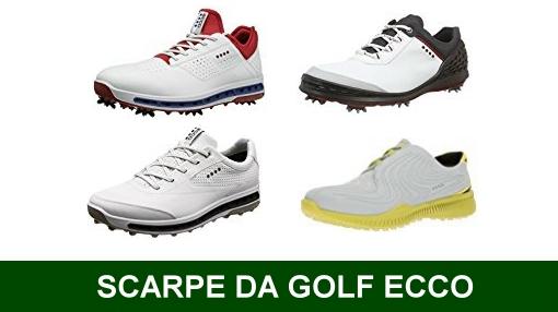 scarpe da golf ecco